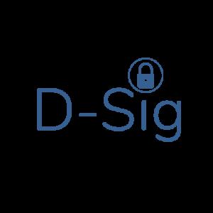 D-SIG BLUE PNG